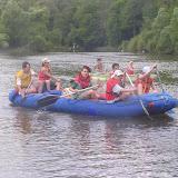 Raft v plné parádě