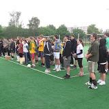 Nástup týmů při zahájení turnaje