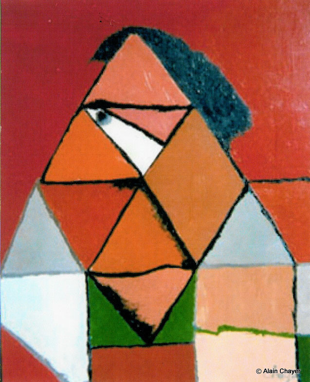 002 - Gabriel - 1970 92 x 73 - Huile sur toile