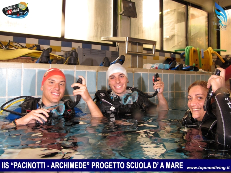 Progetto Scuola D' A Mare - DSD IIS Pacinotti Archimede