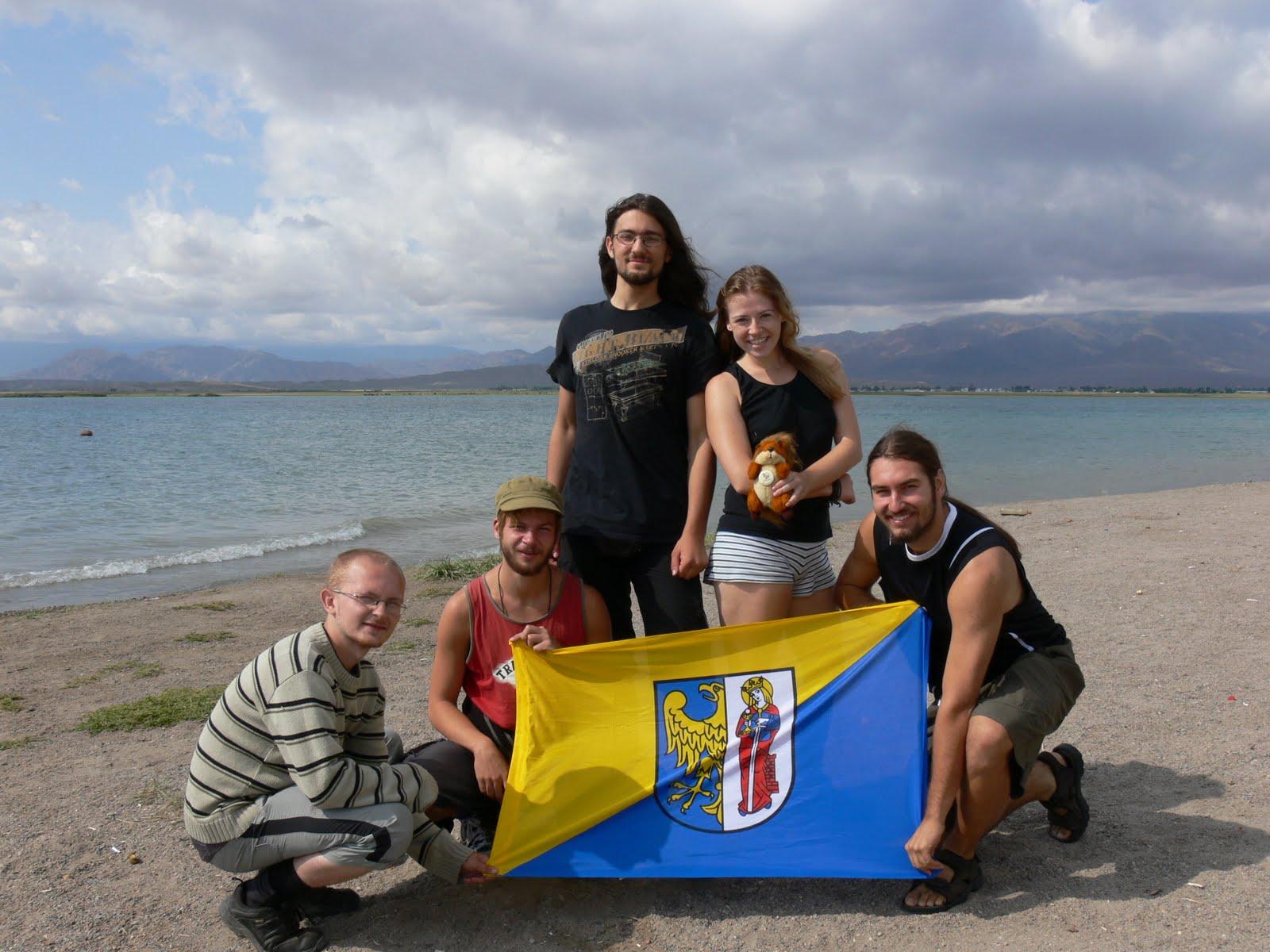 Jezioro Issyk-Kol, Kirgistan