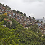 Favelas are everywhere in Rio de Janeiro