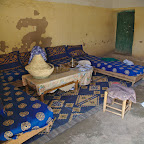 Dining hall in Berber home