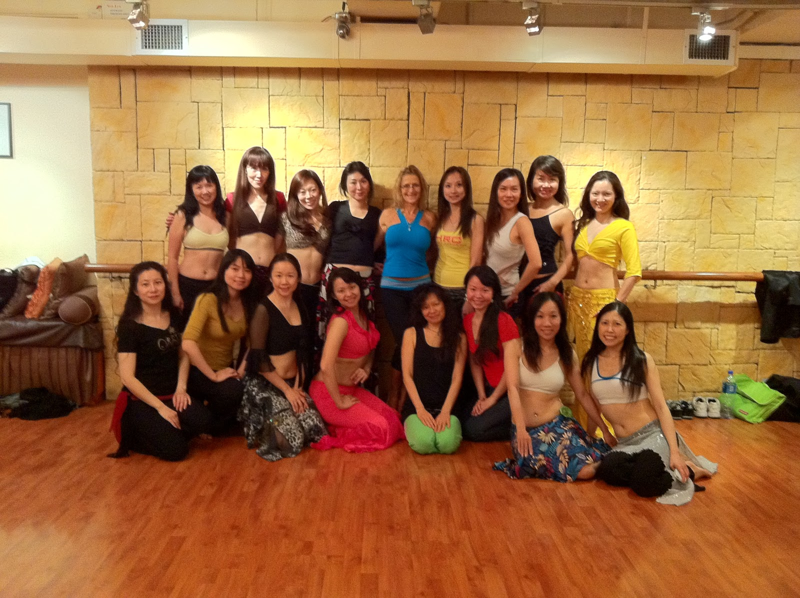 Dance Workshops with Master Teacher - Haida (Hong Kong) Apr'2011
