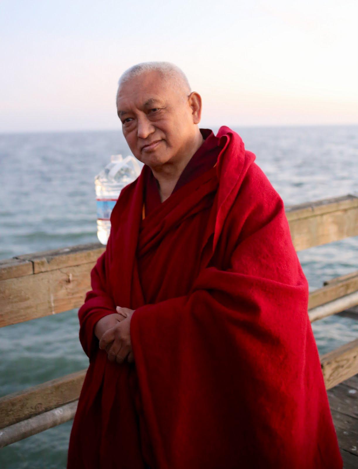 Lama Zopa Rinpoche, California, November 2013. Photo by Ven. Thubten Kunsang.