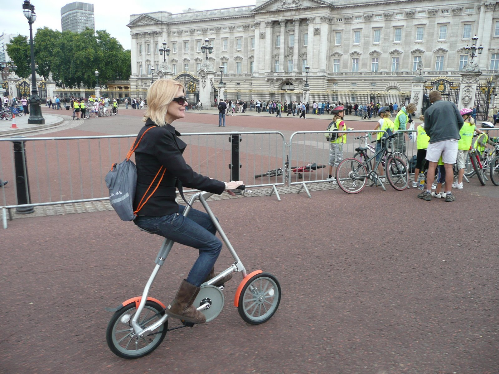 By Royal Appointment !  Ok .. by Buckingham Palace.