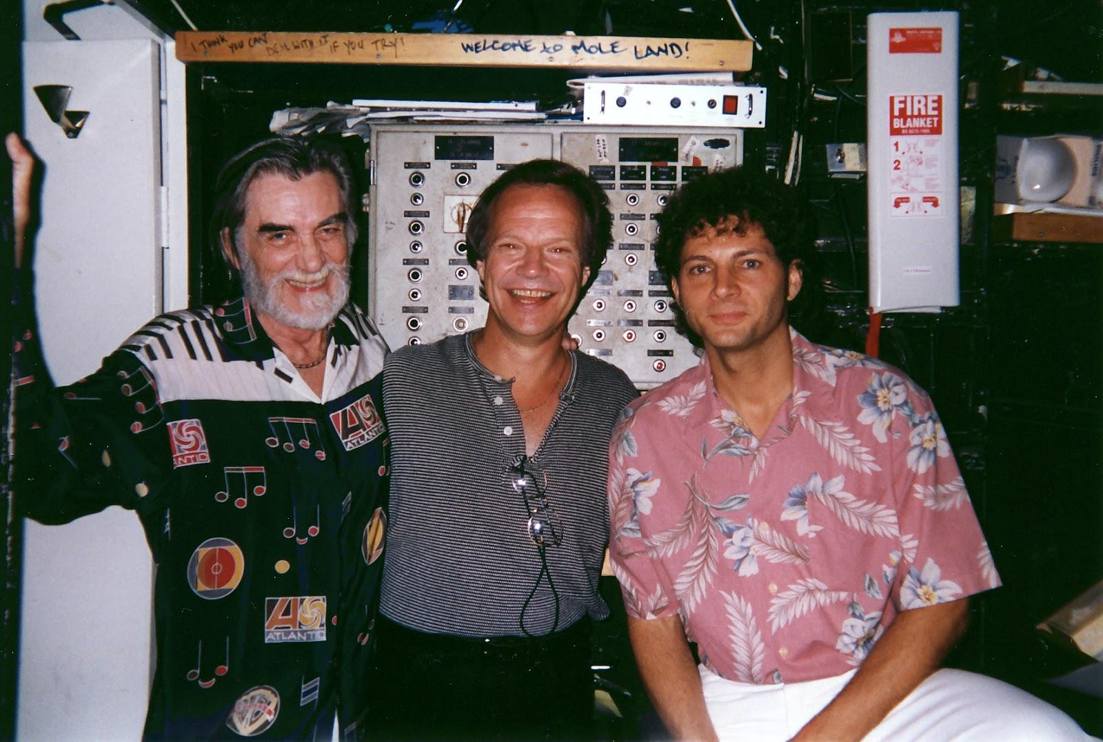Jimmy Stowe with Tom Dowd