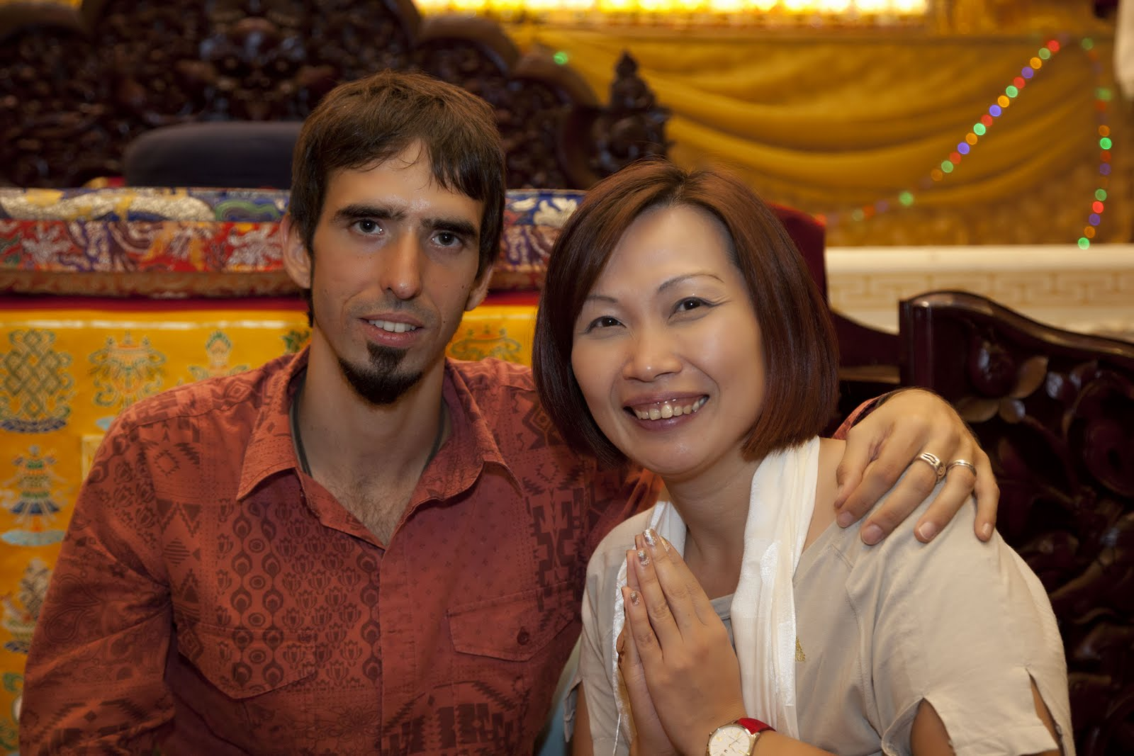 Ösel at Amitabha Buddhist Center in Singapore Nov 2012. Photo by Tan Seow Kheng and Stephen Ching