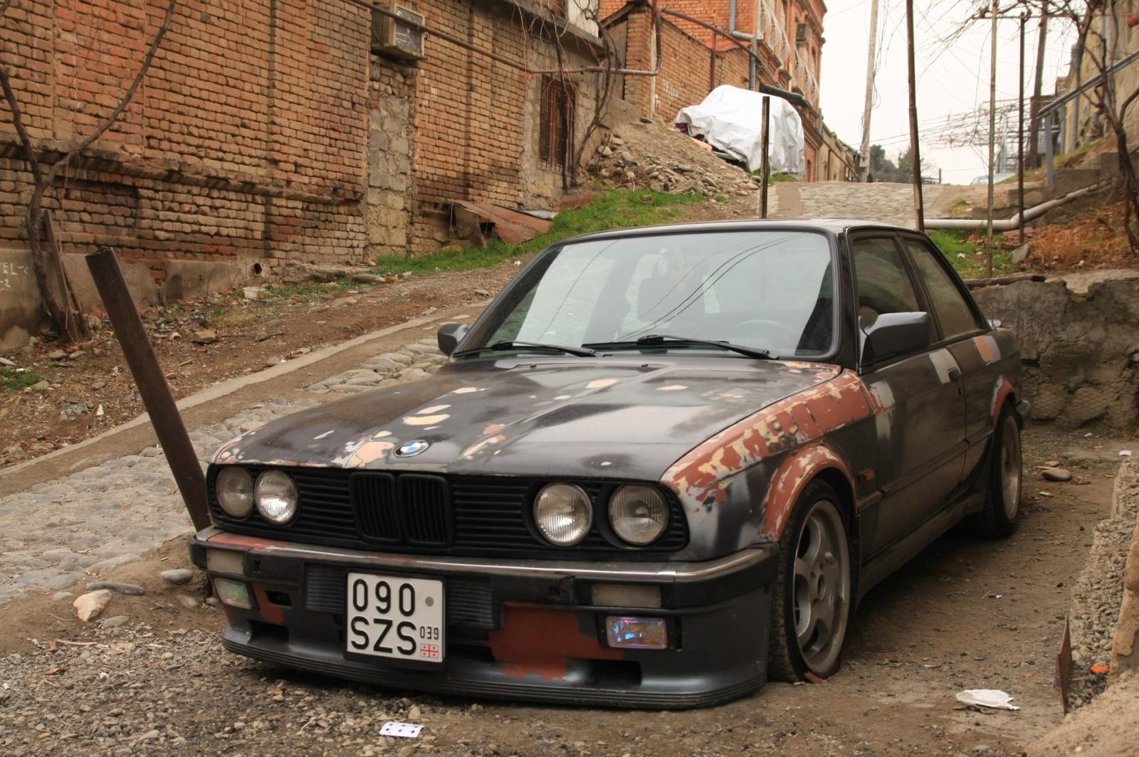 Georgian hooligan's car