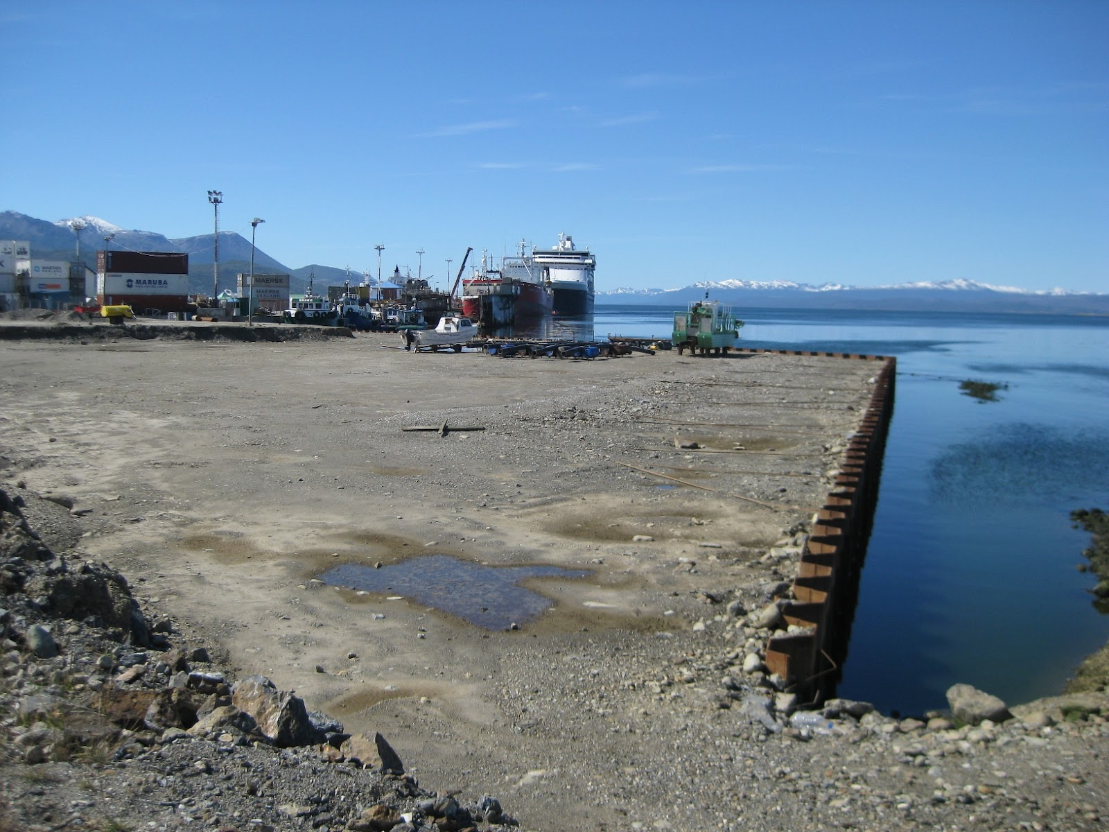 Ports companies are always stealthily reclaiming land