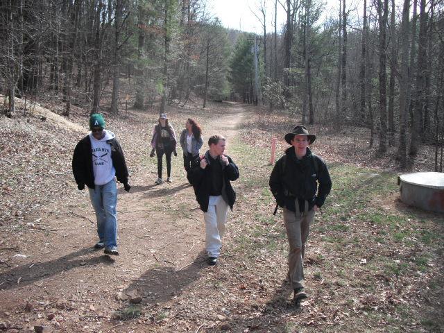 2011 Blood Mountain Hiking Trip