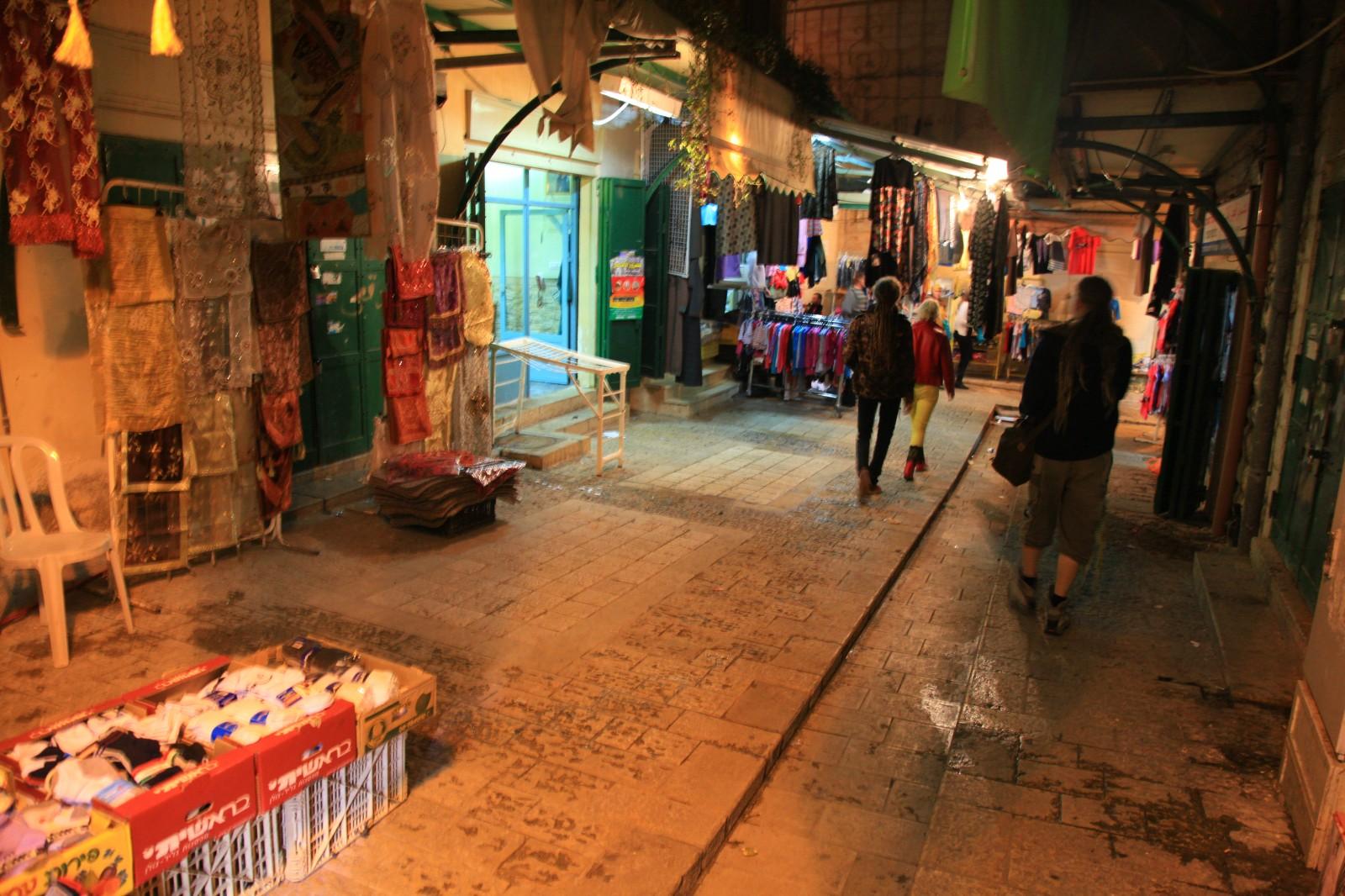 Nazareth night bazaar