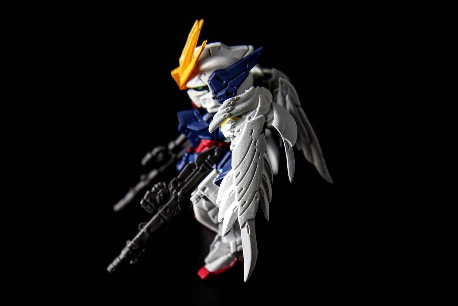 初次登場是第10彈, 俗稱天使鋼彈的他~一直是人氣榜的常客