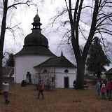 Rotunda sv. Kateřiny - nejstarší dochovaná románská rotunda ve východních Čechách