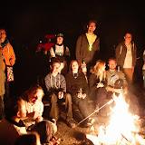 Závěrečné setkání organizátorů akce u ohně
