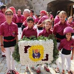 Ofrena Floral Diada de Catalunya  11-09-14