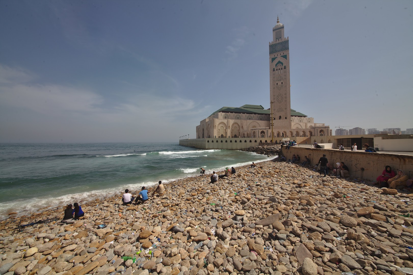The second largest mosque, after Mecca