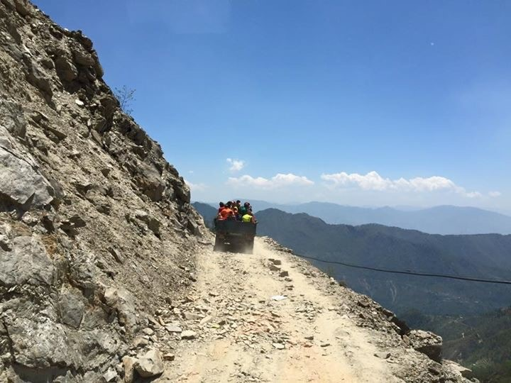 Losang Namgyal Rinpoche Foundation delivering aid.