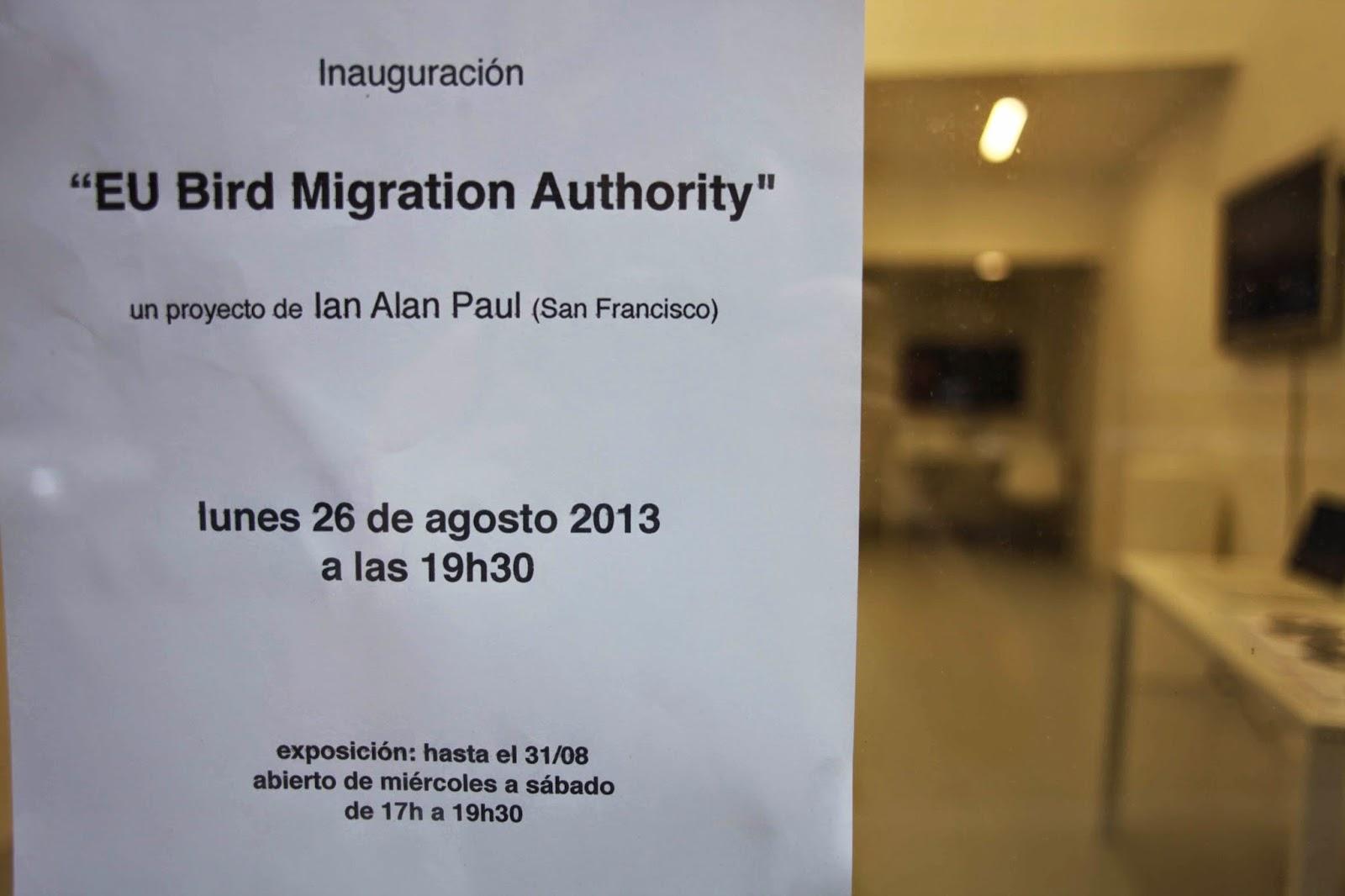 Ian Alan Paul: EU Bird Migration Authority.