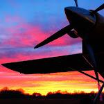 Un PC-6 au sunset
