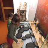 V muzeu jsme si mohli i vyzkoušet, jak mechanické betlémy fungují