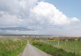 Approaching Loch Fleet, north of Dornoch
