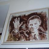 Další čokoládový obraz - americký prezident Obama