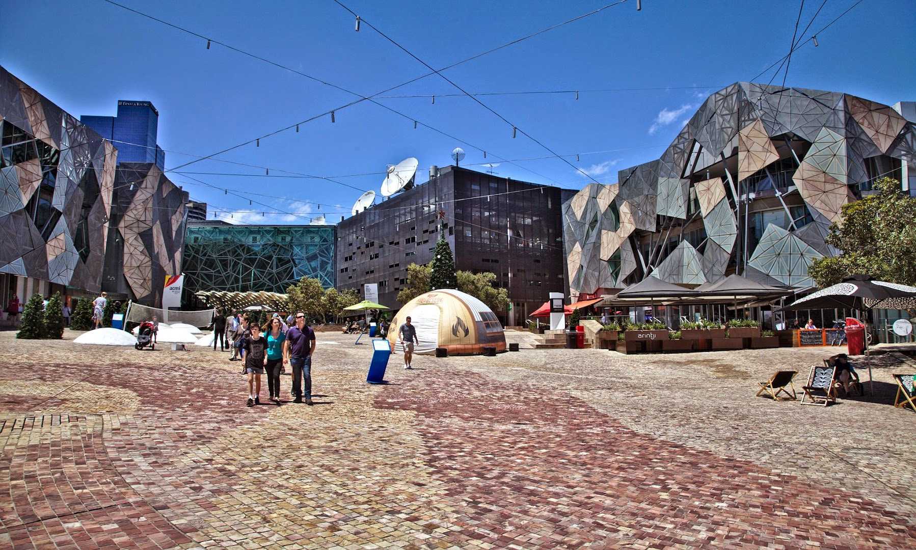 Main square of Melbourne