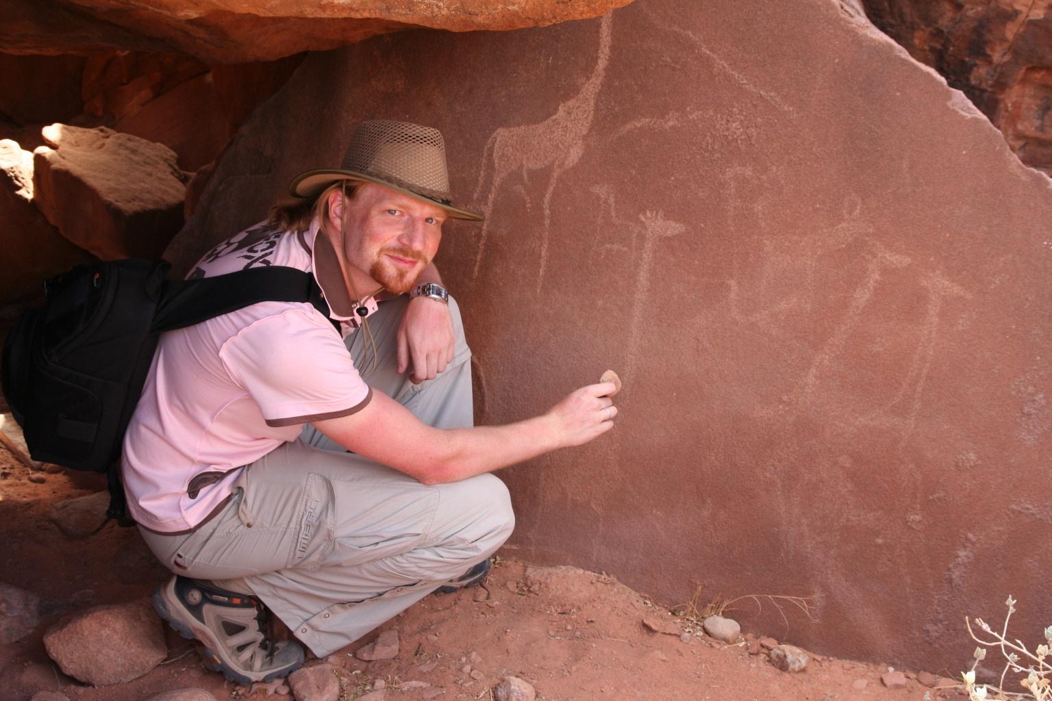 A prehistoric artist