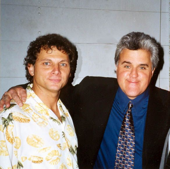Jimmy with Jay Leno. Jimmy, you're just not that funny.
