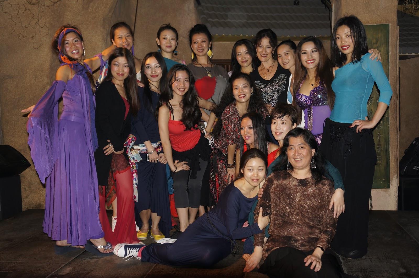 Month Long Dance Bootcamp with Master Dance Teacher Tamalyn Dallah- Solo Dance Rehearsal Day at Mural Bar (Shanghai)