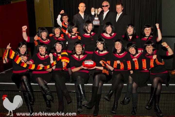 Community Cup publicity still 2011 - courtesy Carbie Warbie