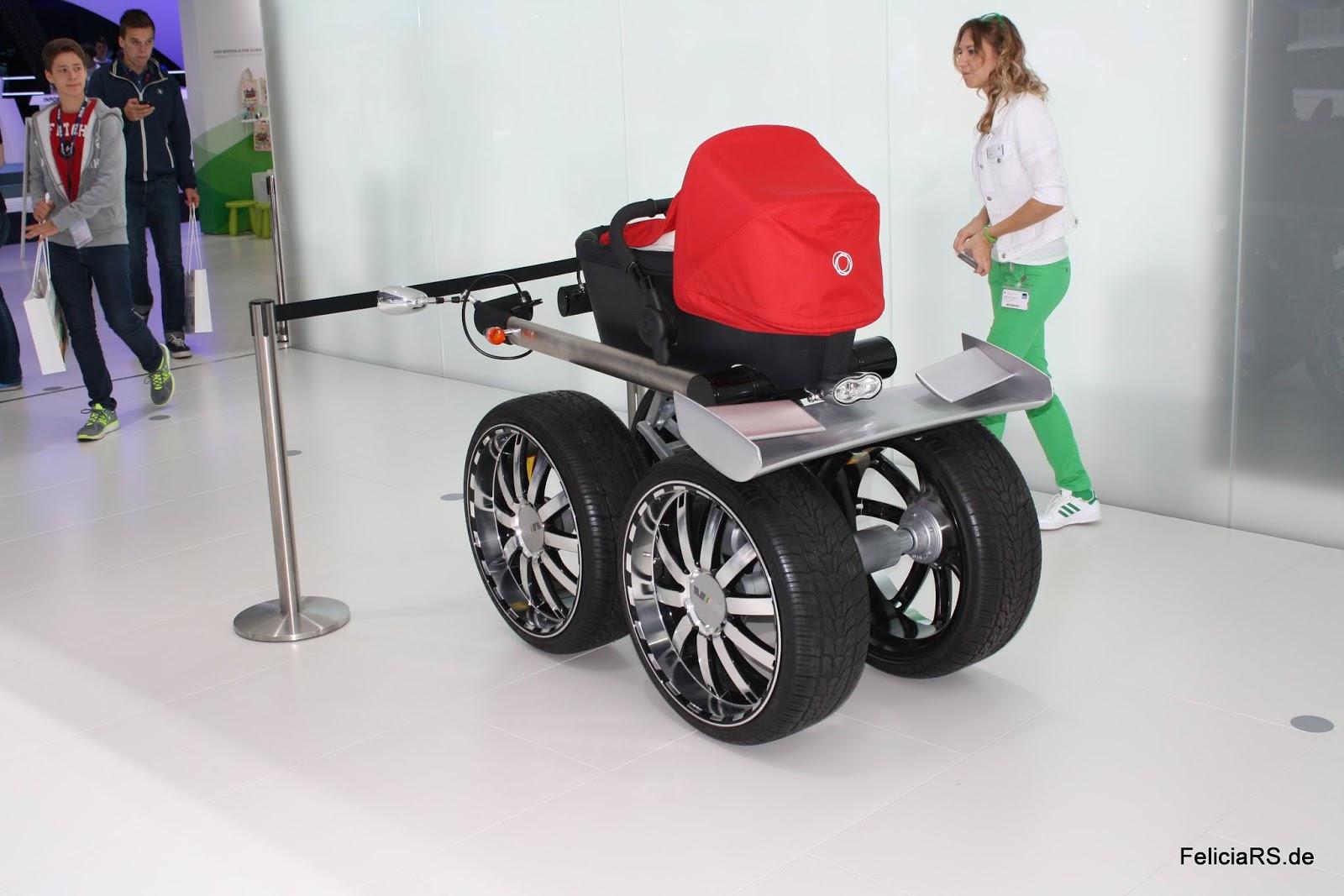 Der Medial viel beachtete RS Kinderwagen war auch da!