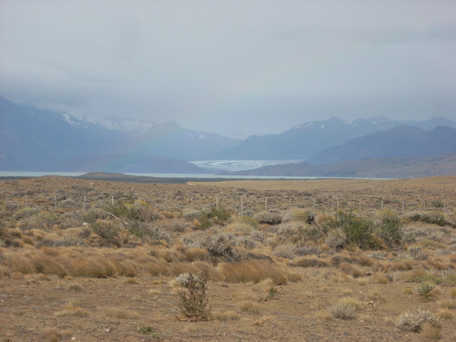 Glacier Viedma, feeding Lago Viedma