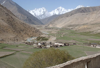 View from Milarepa Cave