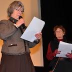 Remise des prix par Arlette Ricci et Annette Cuendet