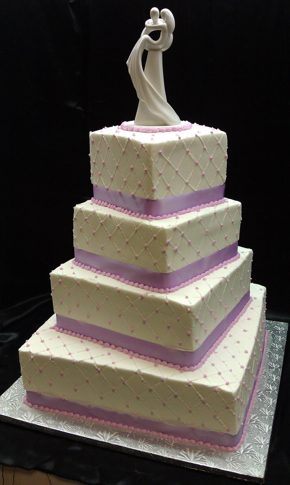 Wedding Quilted Love - Square - Staggered - Level2