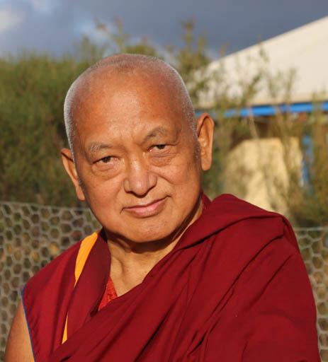 Lama Zopa Rinpoche, De-Tong Ling Retreat Centre, Kangaroo Island, Australia, May 2015. Photo by Ven. Thubten Kunsang.