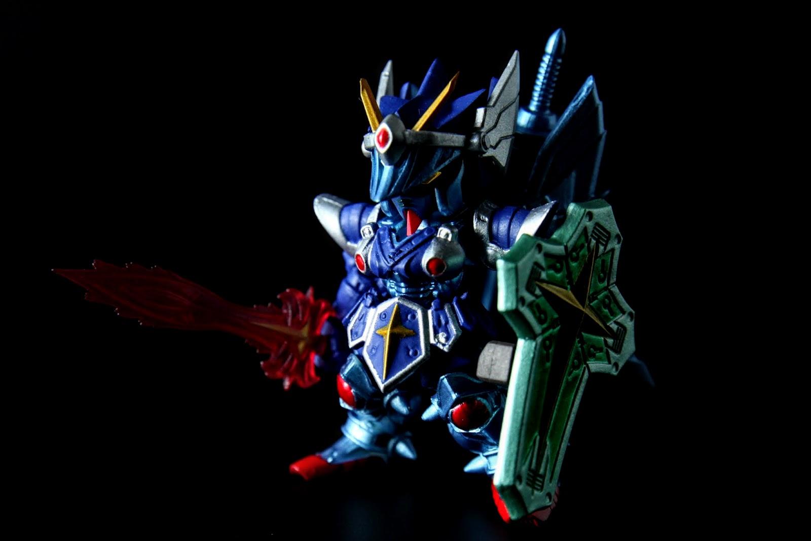 騎士鋼彈全裝備, 比起武者頑駄無有另外的氣勢