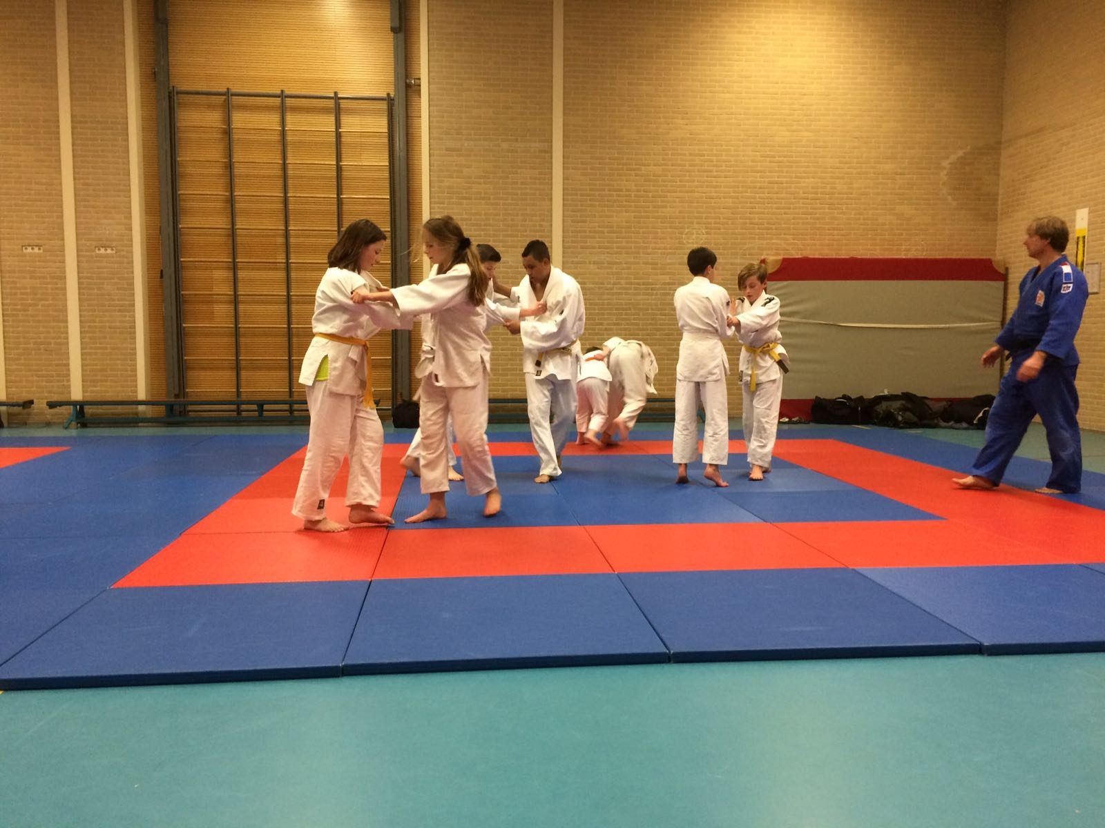 Gasttraining bij Erik Verlaan Sport in Utrecht (23-3-2016)