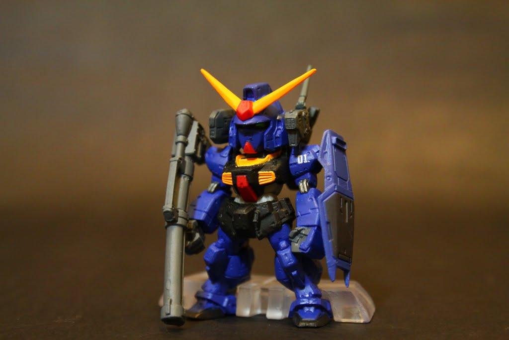 隱藏版 GUNDAM mk-II Bazooka裝備樣式