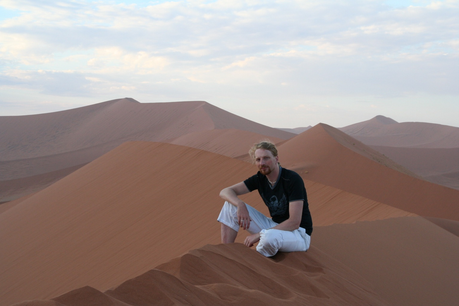 Summit of the Dune 45 ~ 150m of sand