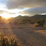 Sunrise near Granite Mountain