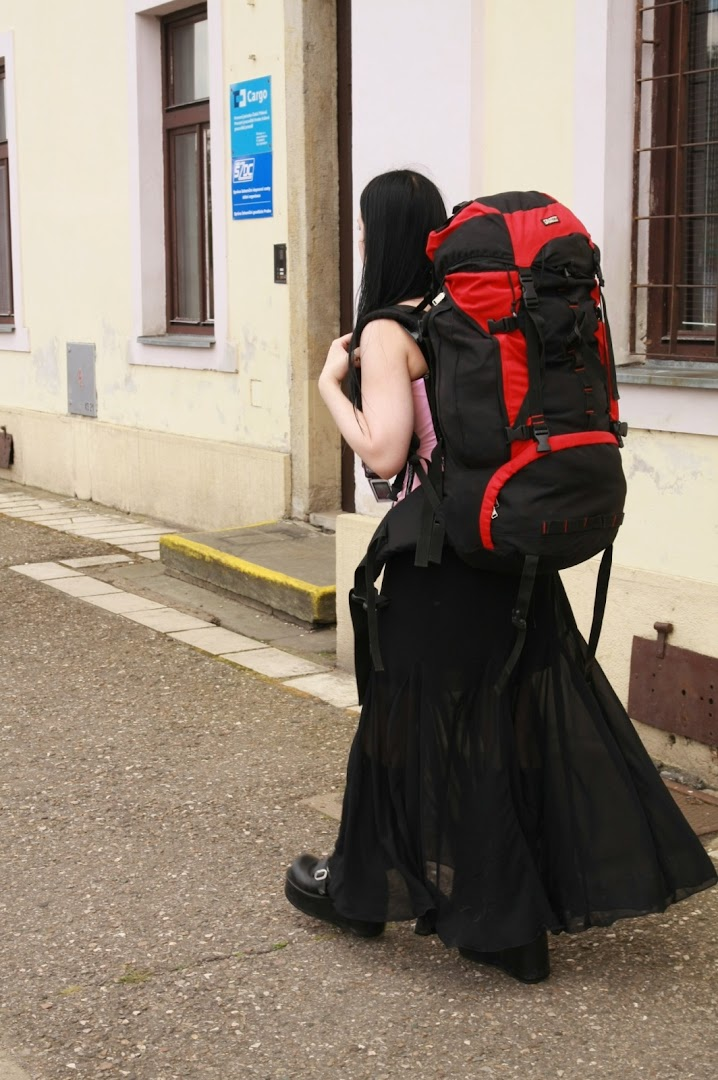 Goths-backpackers