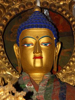 Shakyamuni Statue at Sera