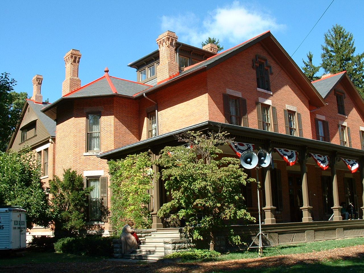 Rutherford B . Hayes Civil War Encampment