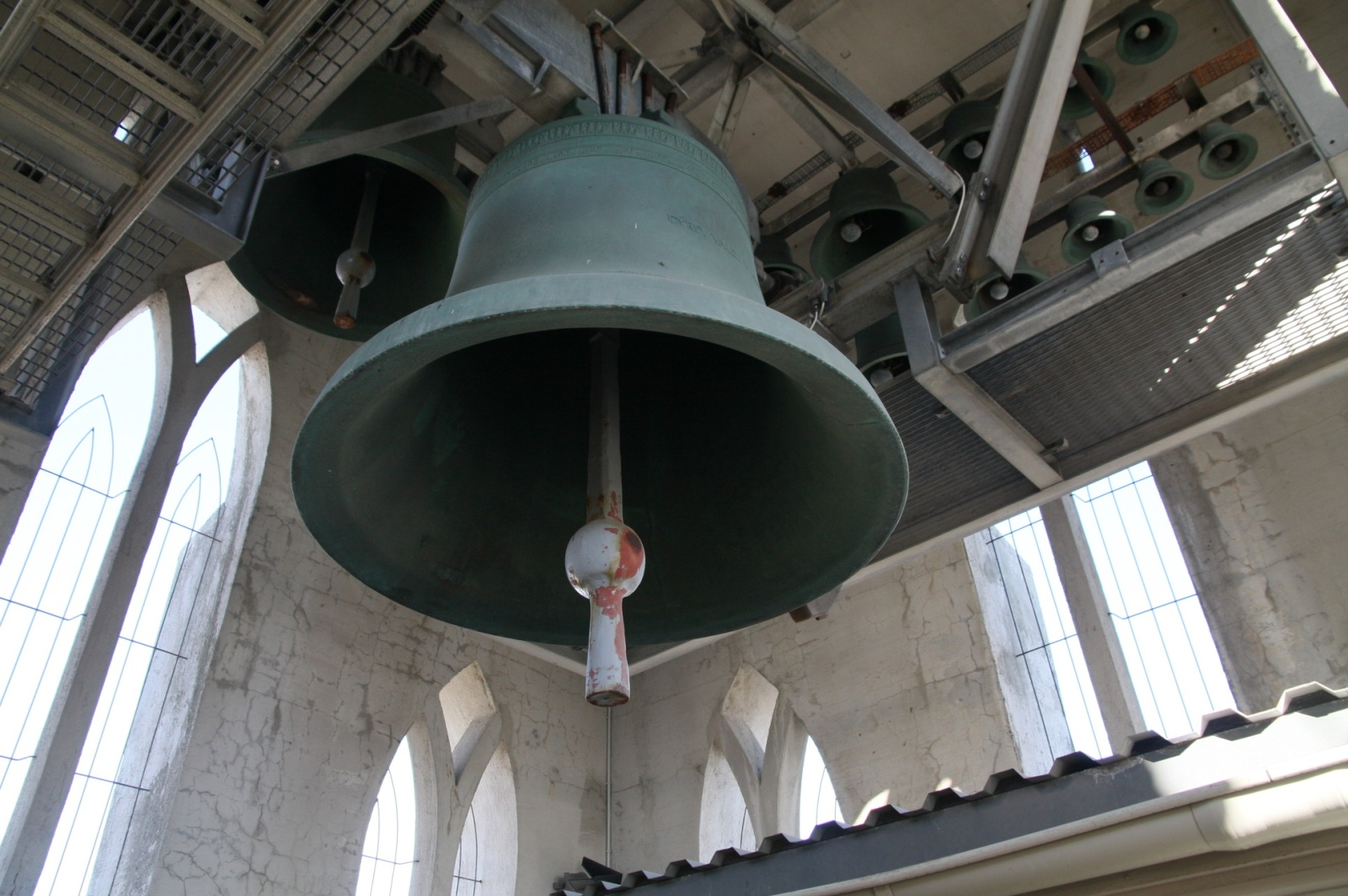 The main bell tower in the country