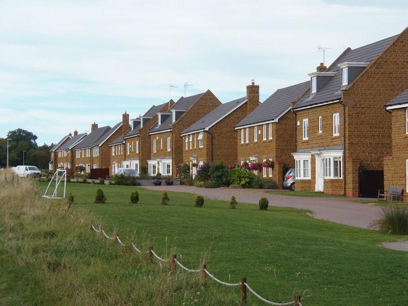 Orange Houses