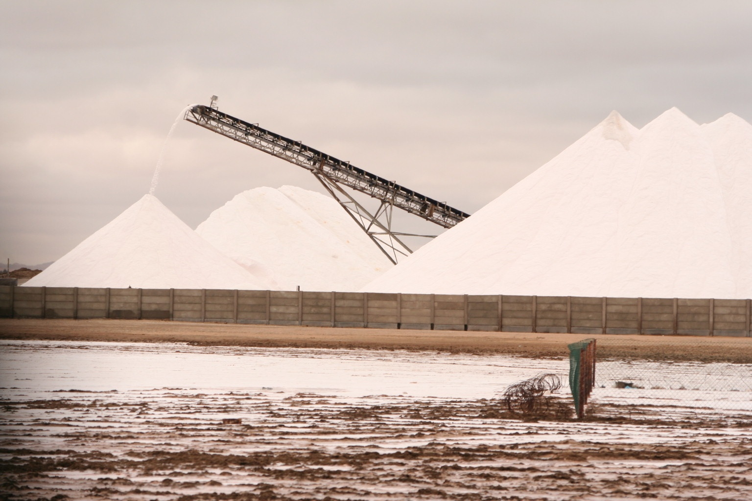 Saltworks near Walvis Bay