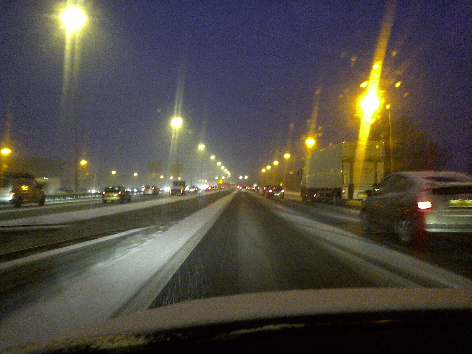 Wonderfully disruptive weather in #NL #a2 More snow expected later this week :-)